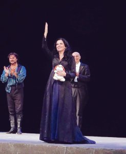 Angela Gheorghiu at the Met, October 29, 2015