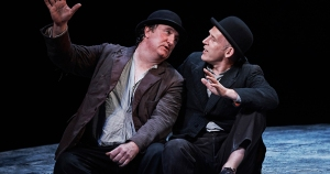 Gary Lydon's Estragon and Conor Lovett as Vladimir (r)